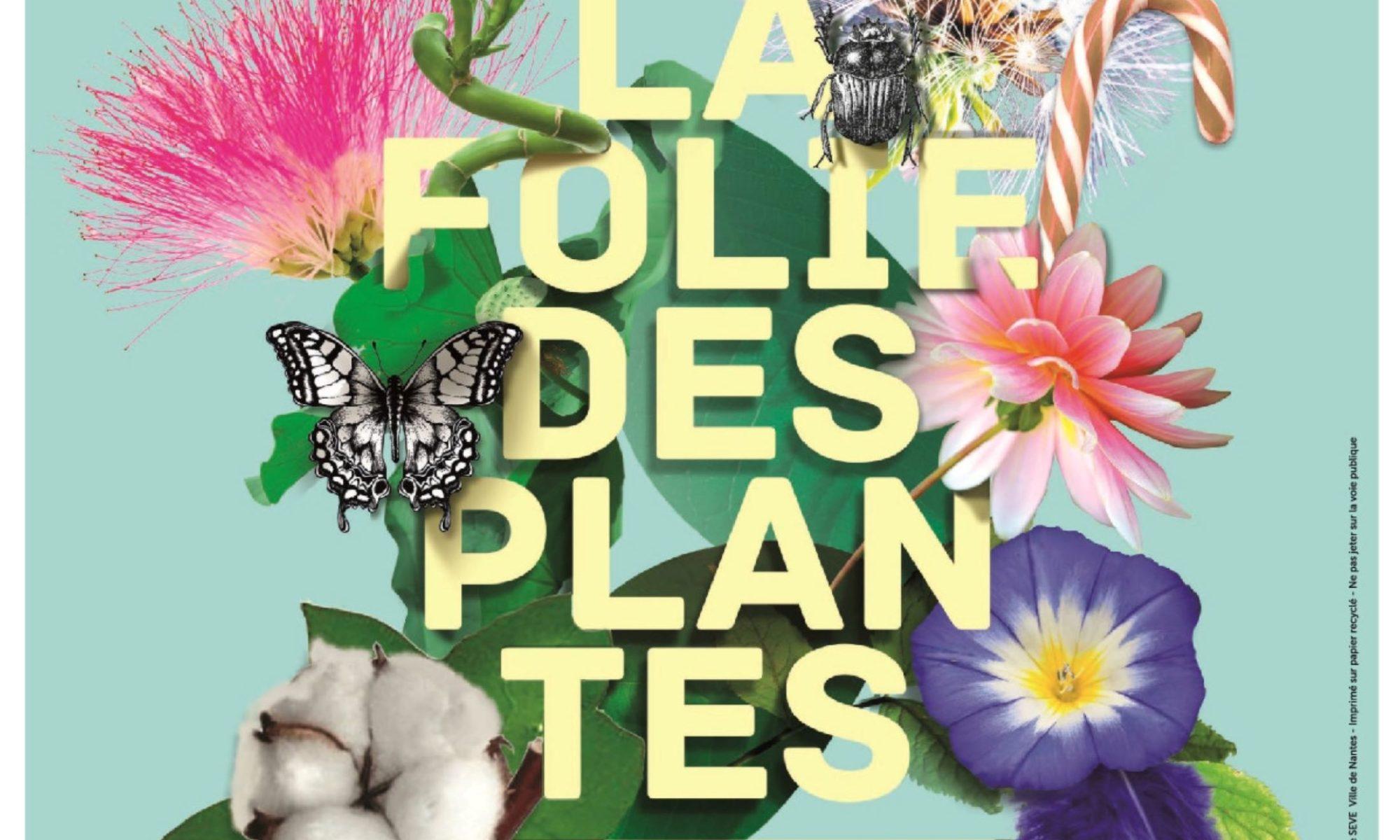 affiche de la folie des plantes 2019